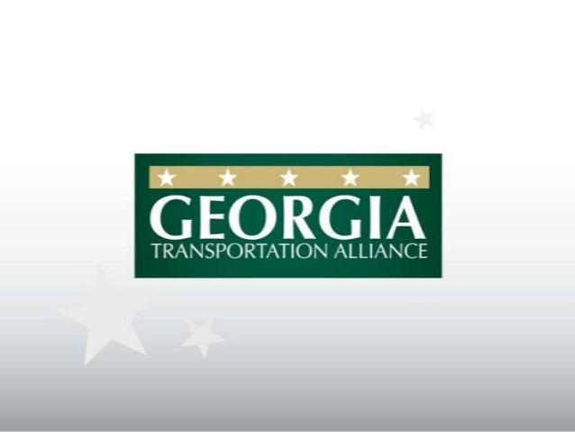 Georgia Transportation Alliance Update