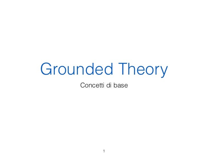 Grounded Theory con Atlas.ti
