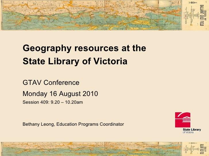 GTAV presentation 2010