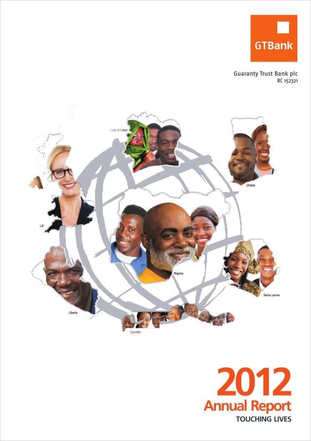 Guaranty Trust Bank annual report 2012