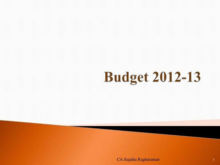 Gtc budget