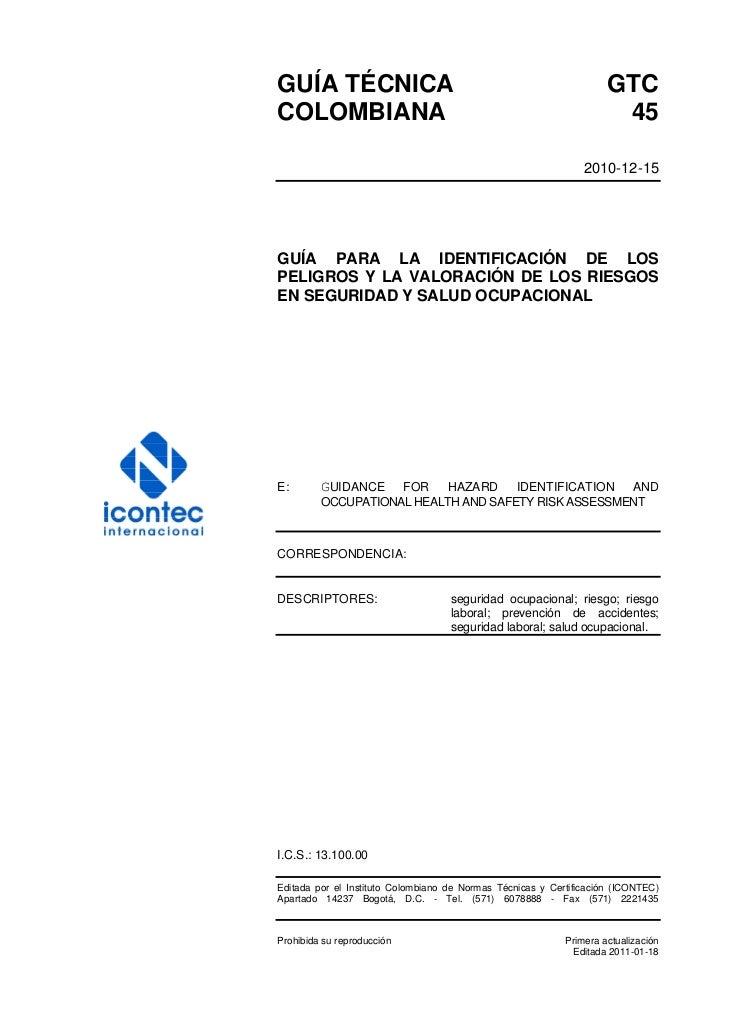 Gtc 45 actualizada y registrada diciembre de 2010 1