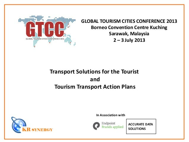 Global Tourism Cities Conference 2013 Presentation Material