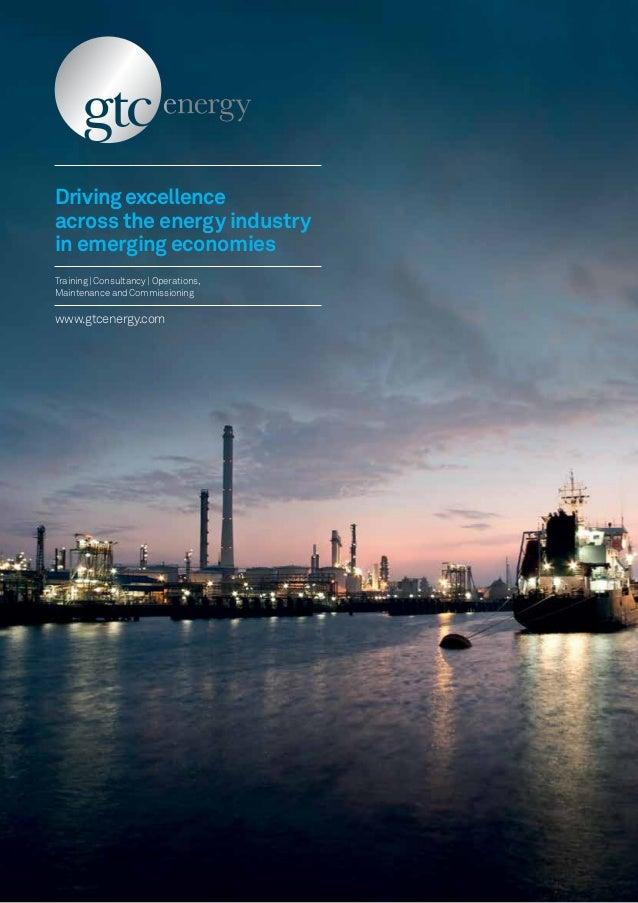 GTC Energy brochure 2013