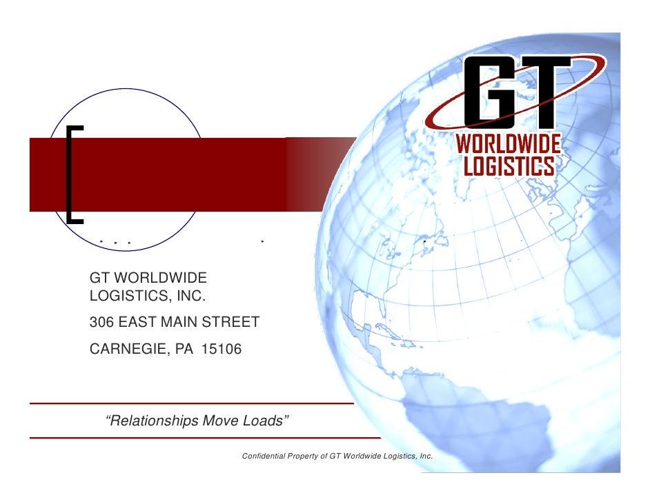 Gt Company Presentation Template