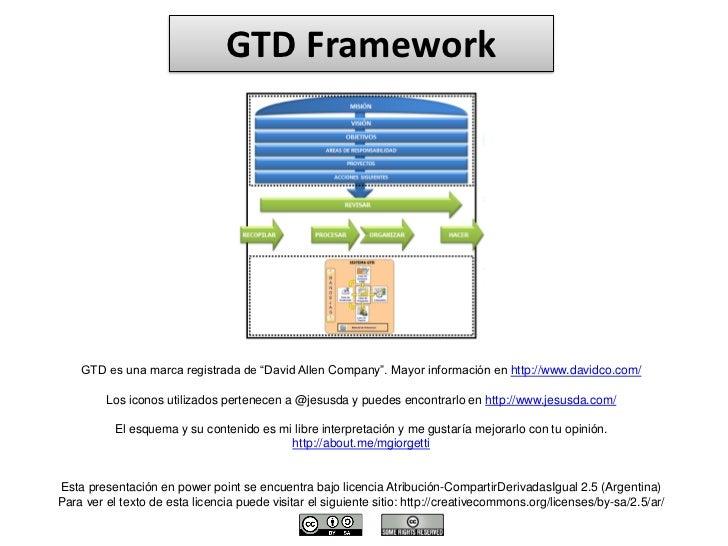 GTD Framework