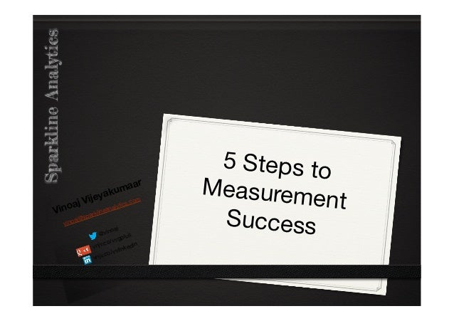 5 steps to measurement success - gThailand - 2012-10-25