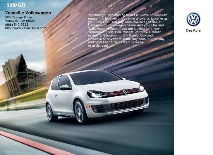 2010 Volkswagen GTI Sacramento