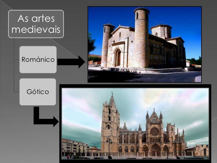 As artesmedievais Románico  Gótico