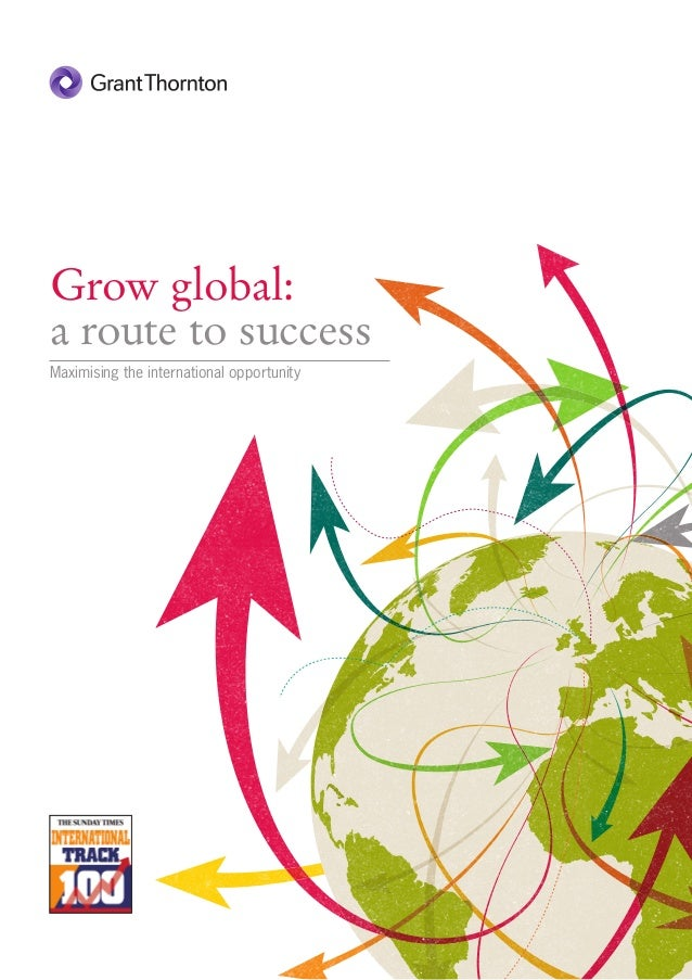 Grow global: a route to success maximising the international opportunity