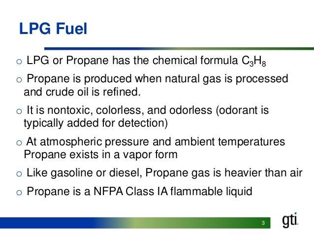Propane Propane Chemical Formula