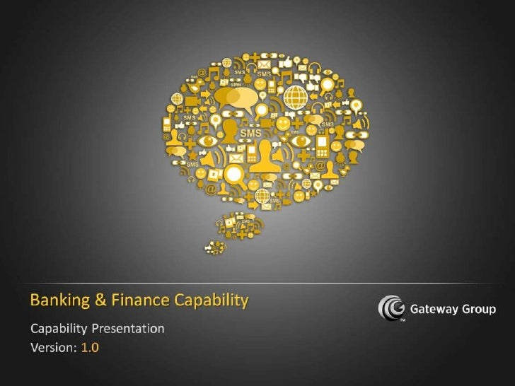 Banking & Finance Capability