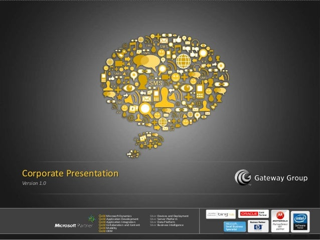 Gateway Group - Corporate Presentation