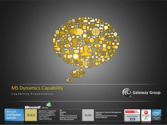 Microsoft Dynamics Capability Presentation