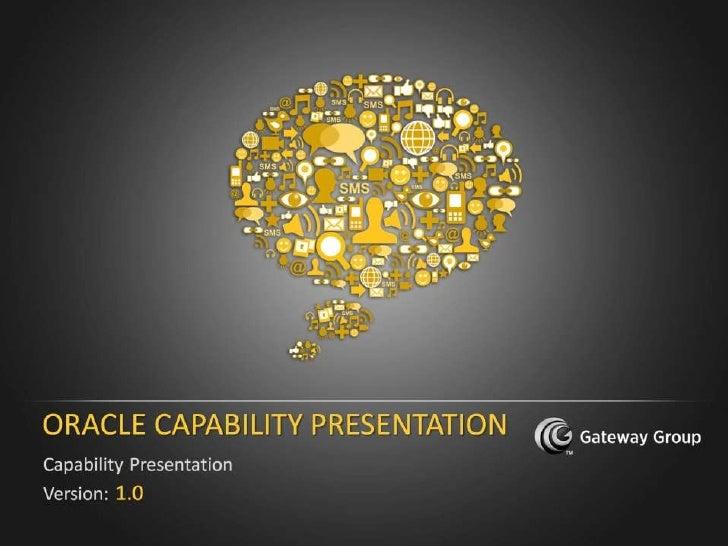 Oracle Capability