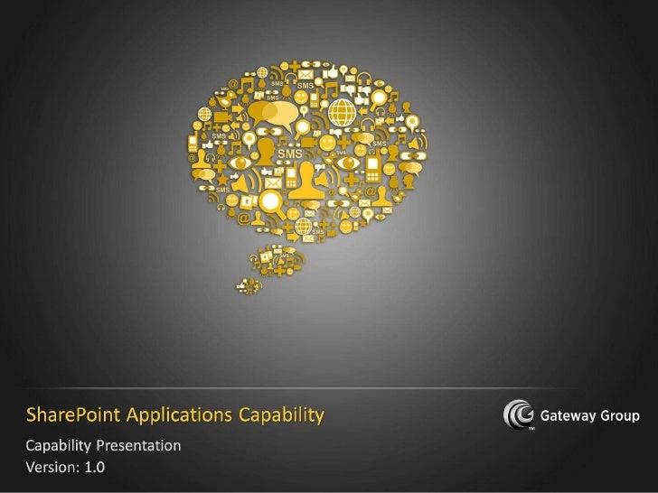 SharePoint Capability