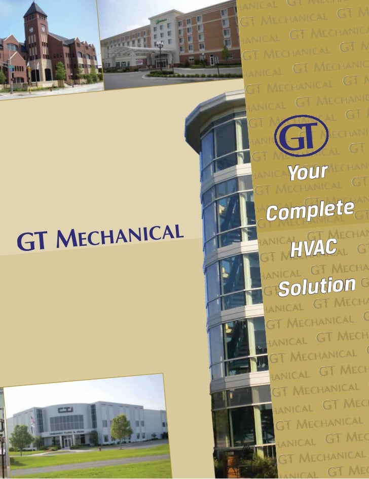 Gt Mechanical Brochure