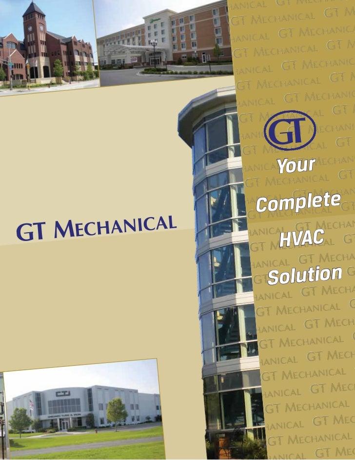 Gt Mechanical Brochure