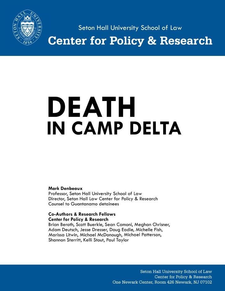 Informe Muerte en Camp Delta