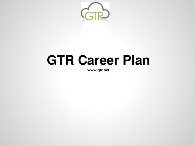 Gtr career plan pdf