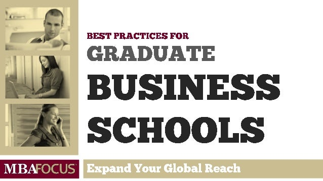 …the world's top B-schools interested in best practices for MBA career service offices.
