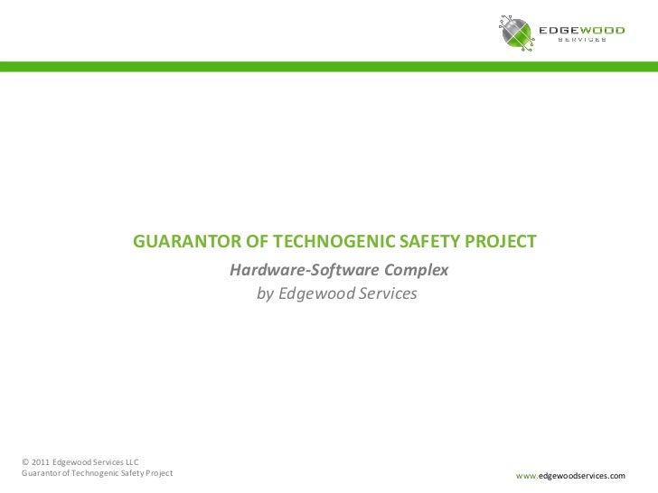 Embedded Systems Portfolio: Guarantor of Technogenic Safety