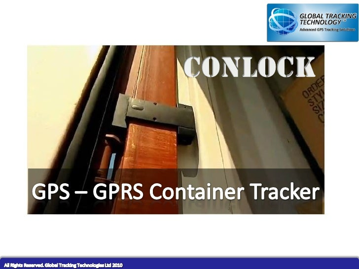 GPS GSM Container Tracking Device