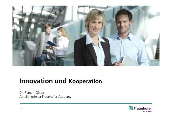 EMBA 2012: Innovation und  Kommunikation final
