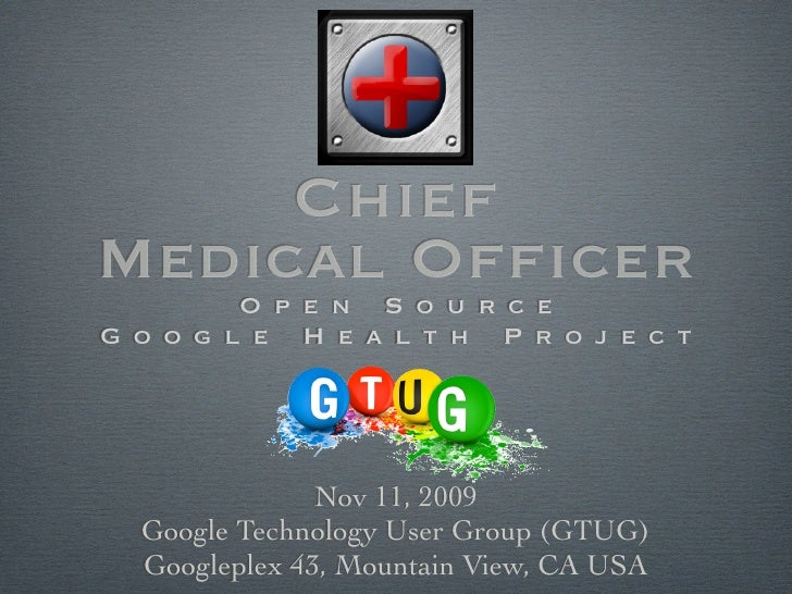 Google Health Architecture & API