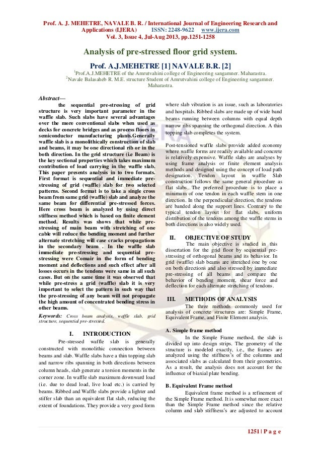 Prof. A. J. MEHETRE, NAVALE B. R. / International Journal of Engineering Research and Applications (IJERA) ISSN: 2248-9622...