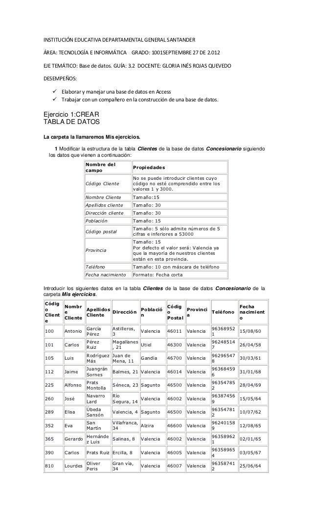 INSTITUCIÓN EDUCATIVA DEPARTAMENTAL GENERAL SANTANDERÁREA: TECNOLOGÍA E INFORMÁTICA GRADO: 1001SEPTIEMBRE 27 DE 2.012EJE T...