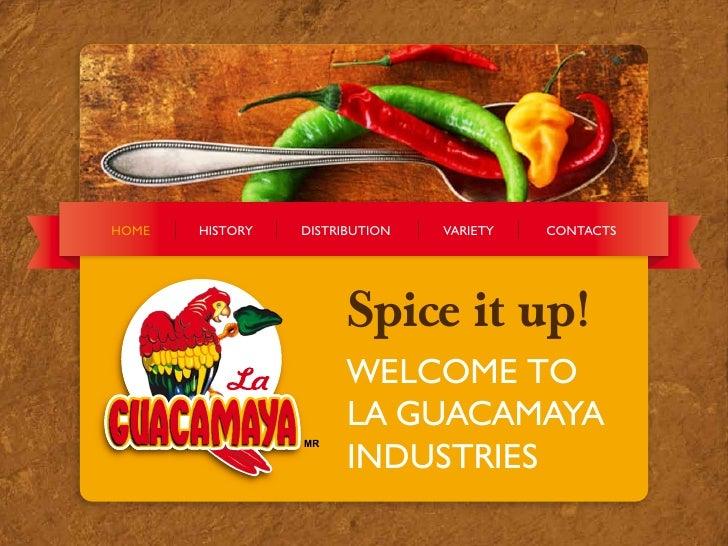 Welcome to Guacamaya!