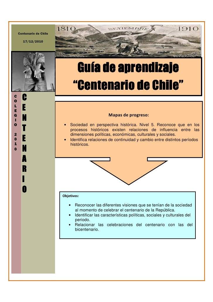 Guía centenario