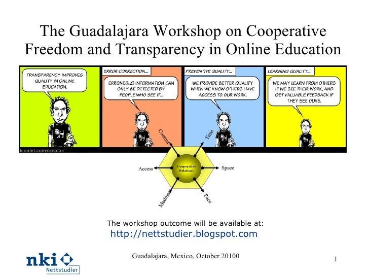 Guadalajara Workshop