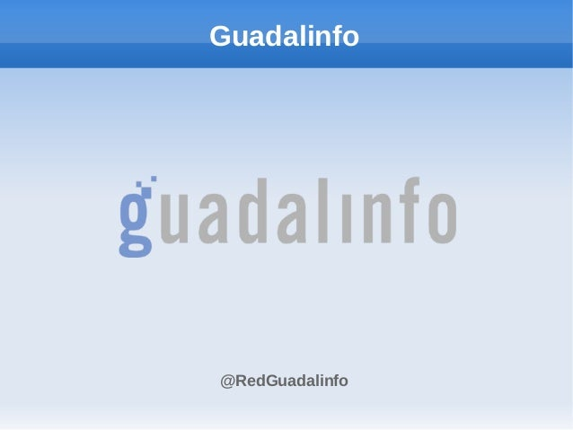 Guadalinfo@RedGuadalinfo
