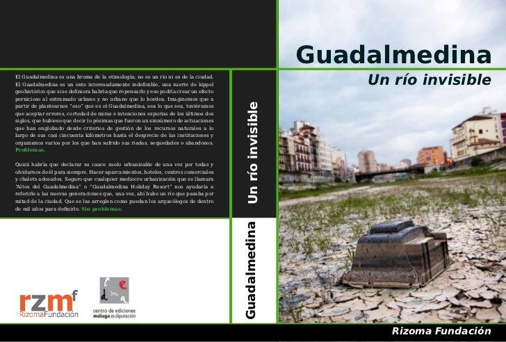 Guadalmedina. Un río invisible.