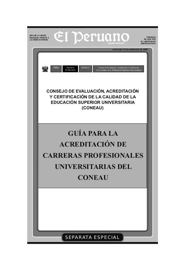 Pedro Espino Vargas y Guía de acreditación de carreras profesionales universitaria coneau (3)