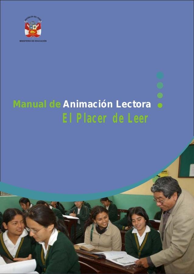 Manual de Animación Lectora         El Placer de Leer