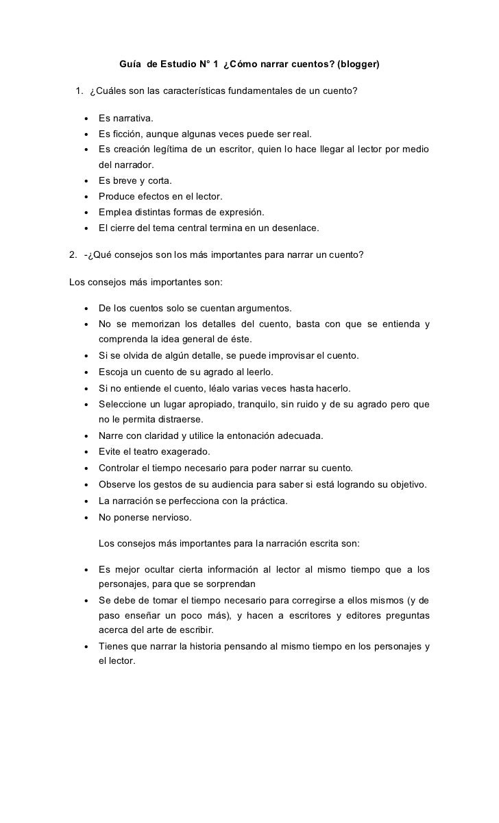 Guía  de estudio n1
