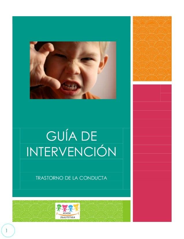 Guía de intervención