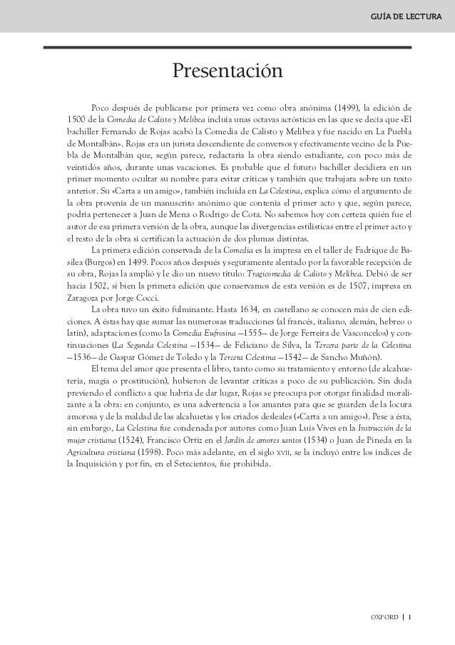 GUÍA DE LECTURA                              Presentación        Poco después de publicarse por primera vez como obra anón...