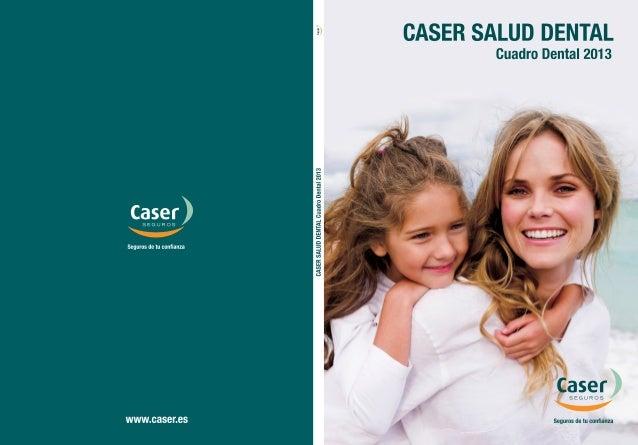 Gu a dental caser barcelona 2013 - Caser salud dental ...