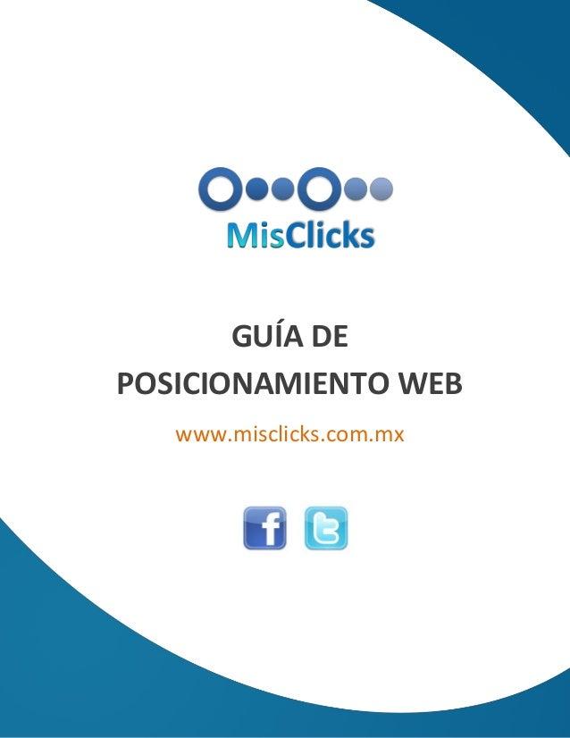 Guía de posicionamiento web