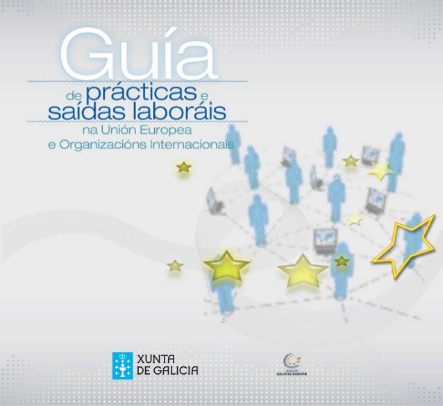 Guía de prácticas y salidas laborales en la UE
