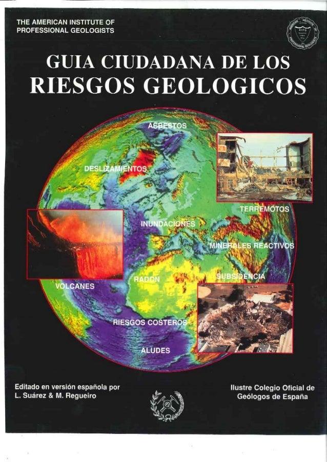 Guía Ciudadana de los Riesgos Geológicos