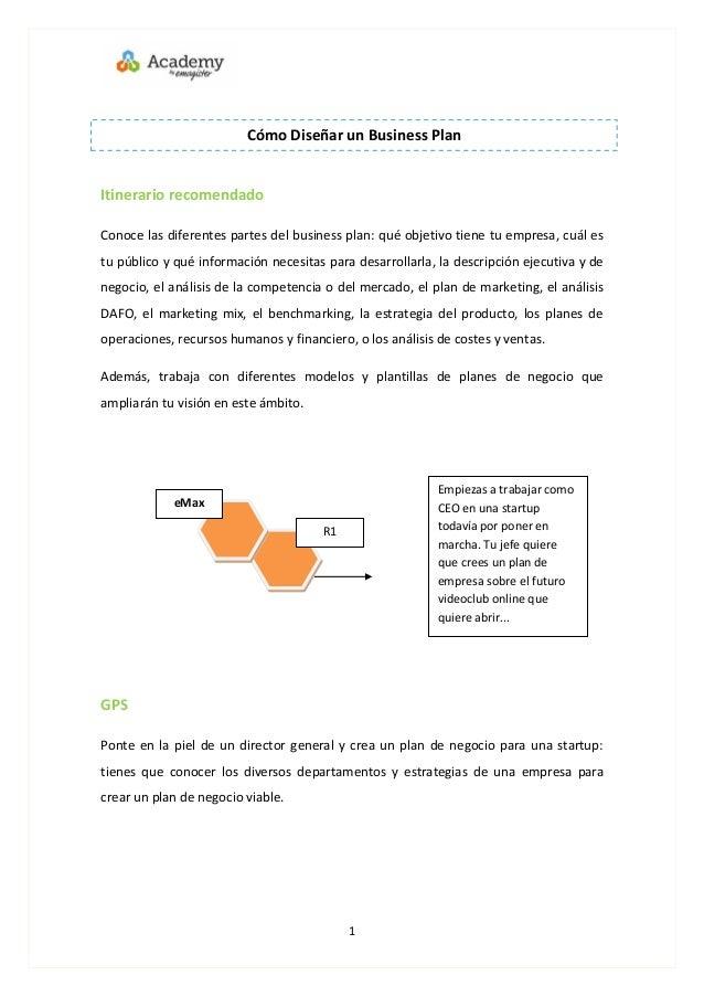 business plan ejecutivo