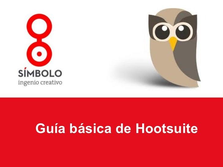 Guía básica de Hootsuite