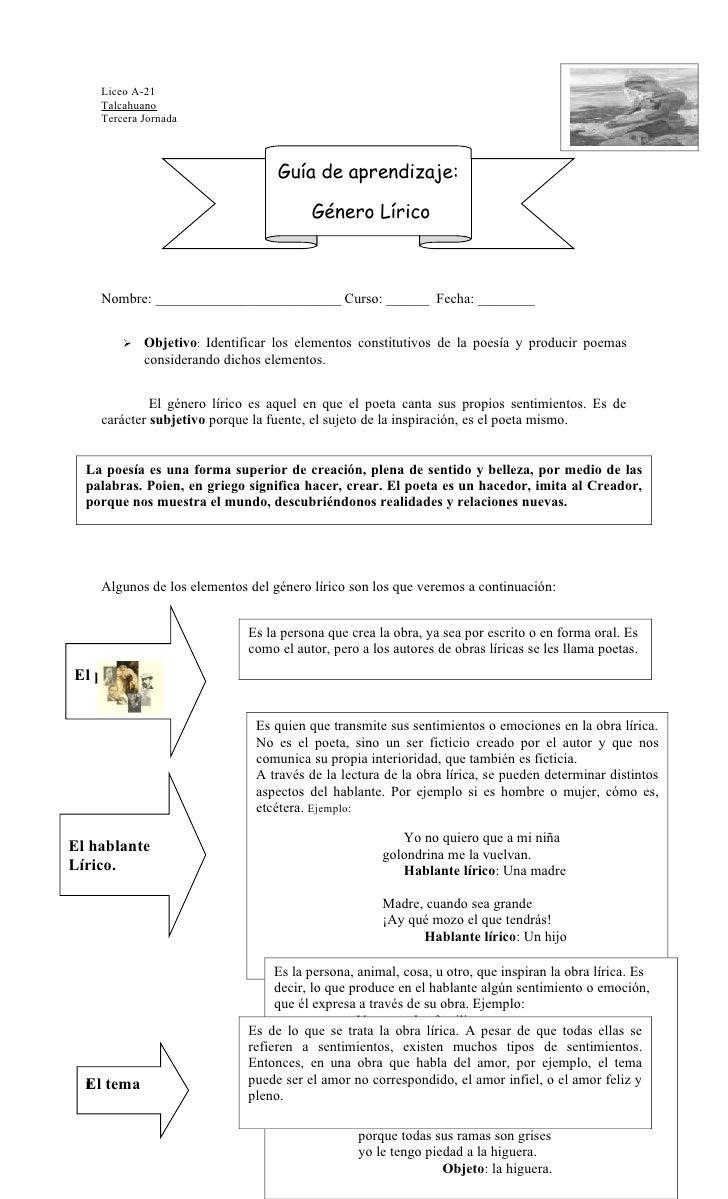 Liceo A-21    Talcahuano    Tercera Jornada                                    Guía de aprendizaje:                       ...