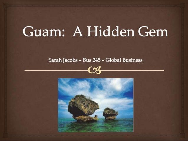 Guam final presentation