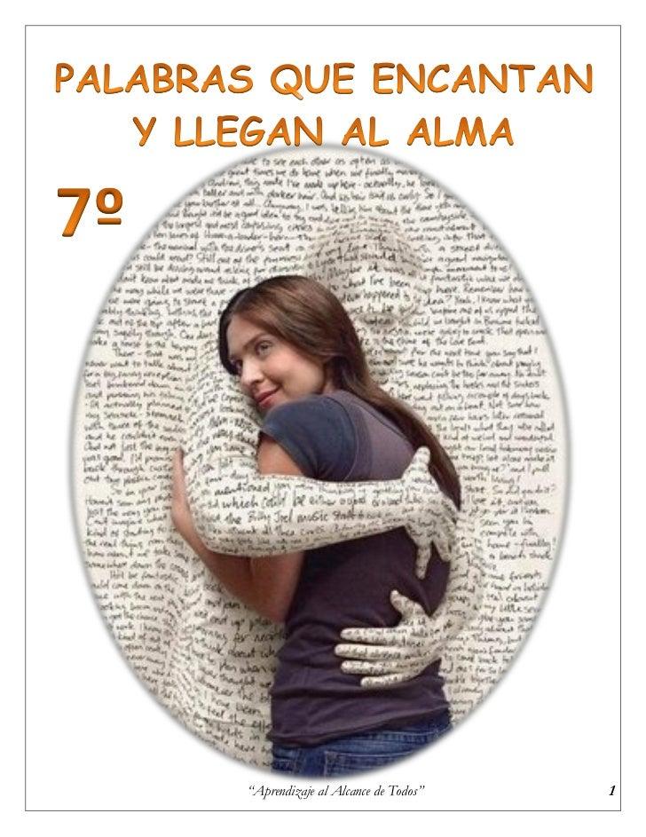 """""""Aprendizaje al Alcance de Todos""""   1"""